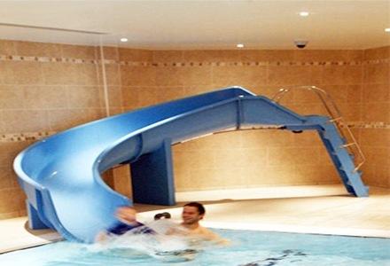 Albercas lagos fuentes cascadas de fibra de vidrio for Tobogan piscina